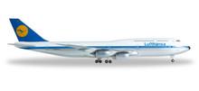 """Herpa Lufthansa Boeing 747-8 Intercontinental """"Retro"""" 1/500"""
