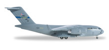 """Herpa USAF Boeing C-17A Globemaster III Mississippi ANG, 183rd Airlift Squadron """"Spirit of the Mississippi Minutemen""""  1/500"""
