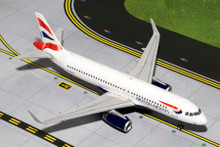 GeminiJets British Airways Airbus A320 'Sharklets' 1/200 G2BAW424