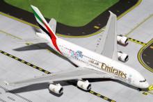 GeminiJets Emirates Airbus A380-800 'England 2015' 1/400 GJUAE1528