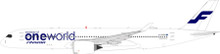 Inflight200 Oneworld (Finnair) Airbus A350-941 With Stand (Flaps Down) 1/200