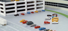 Herpa Airport accessories: 22 cars 1/500