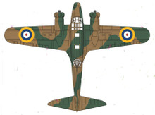 Oxford Royal Air Force Avro Anson Mk1 233 Sqn. RAF Coastal Command 1/72