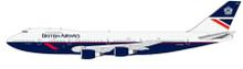 JFOX British Airways Boeing 747-236B City Of Winchester 1/200