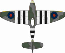 Oxford Diecast Hawker Tempest MkV No.3 Sqn. Newchurch 1944 1/72
