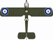 Oxford Diecast DH4 202 Sqn. RFC 1918 1/72
