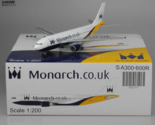 JC Wings Monarch Airbus A300-600 1/200