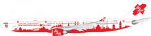 Eagle AirAsiaX Airbus A330-300 1/200