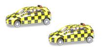 Herpa Scenix Mercedes-Benz Follow-Me Van (2-pack) 1/200