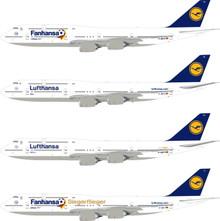 Eagle Lufthansa Boeing 747-8 'Fanhansa Siegerflieger' 1/200