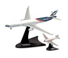 Herpa Cathay Pacific Airways Set Douglas DC-3 / Airbus A330-300 Niki + Progress Hong Kong 1/400