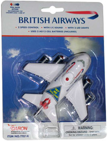 British Airways Pullback with Light & Sound