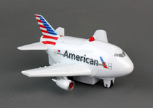 American Airlines Pullback Plane