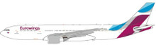 JC Wings Eurowings Airbus A330-200 D-AXGA with antenna 1/400