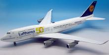 JFOX Lufthansa Boeing 747-430 50TH D-ABVH 1/200