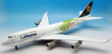 JFOX Lufthansa Boeing 747-430 EXPO D-ABVK 1/200