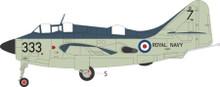 Aviation 72 Fairey Gannet XA420 333 824 NAS HMS Albion 1957 1/72