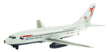 Inflight200 British Airways Boeing 737-200 G-BKYG 'Teaming up for Britain colours' 1/200