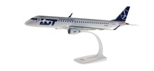 Herpa Snap Fit LOT - Polish Airlines Embraer E195 1/100