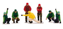 HerpaUS NAVY Deck Crew - Launch Team (8 Figures) 1/200