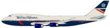 JFOX British Airways Boeing 747-436 G-BNLW 'City of Norwich' 1/200
