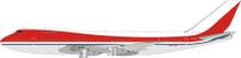 JFOX El Al Israel Boeing 747-124 4X-AXZ 1/200