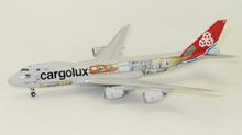 JC Wings Cargolux Boeing 747-8F 'Cutaway Livery' 1/400