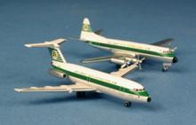 "AeroClassics Aer Lingus ""St Malackey"" BAC1-11 & ""St Damhait"" Viscount 800 (set of 2) 1/400"