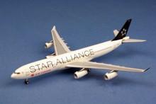 """AeroClassics Air Canada Airbus A340-300 C-FDRO """"Star Alliance"""" 1/400"""