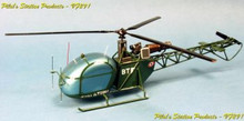 Pilot's Station AS313 Alouette II 1/24