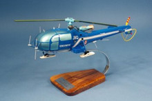 Pilot's Station AS316 Alouette III 1/25