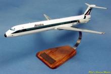 Pilot's Station Alitalia McDonnell Douglas MD-82 1/100
