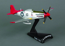 Postage Stamp P-51 Mustang Tuskegee 1/100