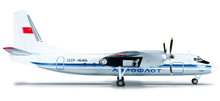 Herpa Aeroflot Antonov AN-24RV 1/200