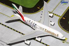 """GeminiJets Emirates Airbus A380 """"Real Madrid"""" 1/400 GJUAE1557"""