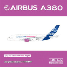 Phoenix A380 Flying the A350-1000 extra engine 1/400 F-WWOW
