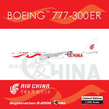 "Phoenix Air China Boeing 777-300ER ""I Love China"" 1/200 B-2006"