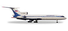 Herpa Aeroflot Tupolev TU-154B-2 1/200