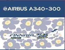 """Phoenix Finnair Airbus A340-300 """"Marimekko Unikko"""" 1/200"""