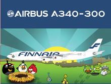 "Phoenix Finnair Airbus A340-300 ""Angry Birds"" 1/200"