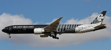 Inflight200 Air New Zealand Boeing 777-300 ZK-OKQ 'All Black' 1/200