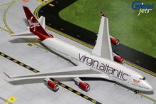 "GeminiJets Virgin Atlantic Boeing 747-400 ""Ruby Tuesday"" G-VXLG 1/200 G2VIR608"