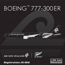 "Phoenix Air New Zealand Boeing 777-300ER ""All Black"" 1/400"