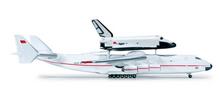 Herpa Antonov AN-225 Mriya & Buran Orbiter 1/500