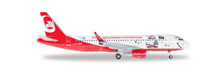 "Herpa airberlin Airbus A320 - ""Lindt Hello - Flying Home for Christmas (V)"" 1/200"