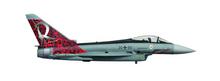 """Herpa Luftwaffe Eurofighter Typhoon - TaktLwG 71 """"Richthofen"""" 1/200"""