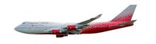Herpa Rossiya Airlines Boeing 747-400 1/250
