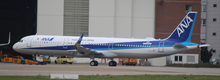 JC Wings ANA Airbus A321-200 JA111A 1/200