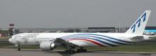 """JC Wings Boeing 777-300ER """"World Tour"""" N5017V 1/200"""