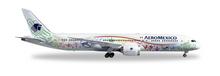 "Herpa Aeromexico Boeing 787-9 Dreamliner ""Quetzalcóatl"" 1/200"